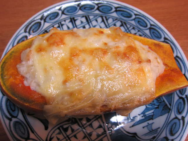 バター ナッツ かぼちゃ グラタン