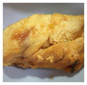 鶏むね肉で味噌チャーシュー