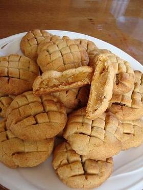 リンゴジャムサンドクッキー