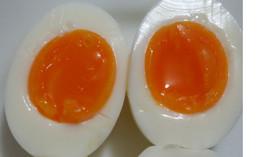 再現性確実!の理想的な半熟ゆで卵