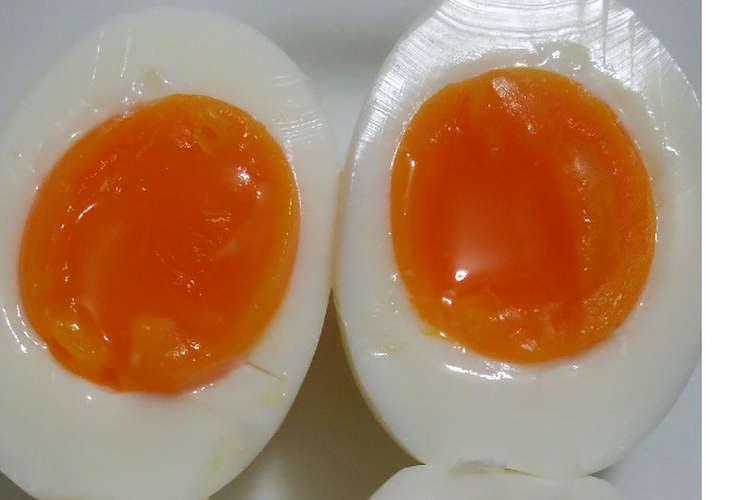 時間 半熟 卵 ゆで