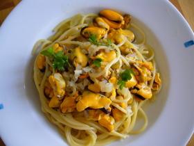 ムール貝のスパゲッティ