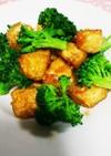 ブロッコリーと豆腐の激ウマ中華炒め