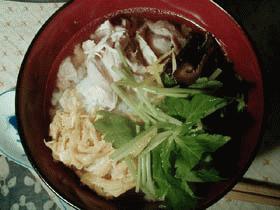奄美大島 鶏飯風汁かけご飯