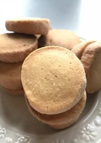 バターなしプレーンアイスボックスクッキー