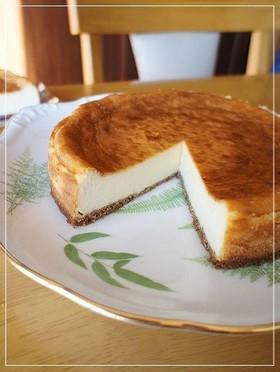 濃厚ベイクドチーズケーキ(小麦粉不使用)