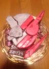 仮面ライダービルド★キャラ立体ケーキ