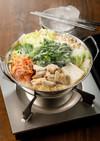 キムチでピリ辛☆韓国風コプチャンチゲ鍋