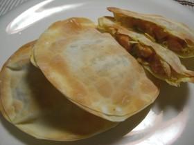 餃子皮❤魚肉ソーセージのカレーポテトパイ