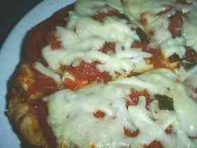 主人の大好きなピザ