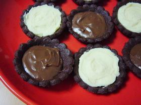 さくさくチョコクッキー&タルト