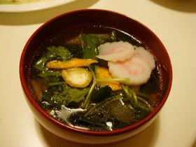 お雑煮(東京風)