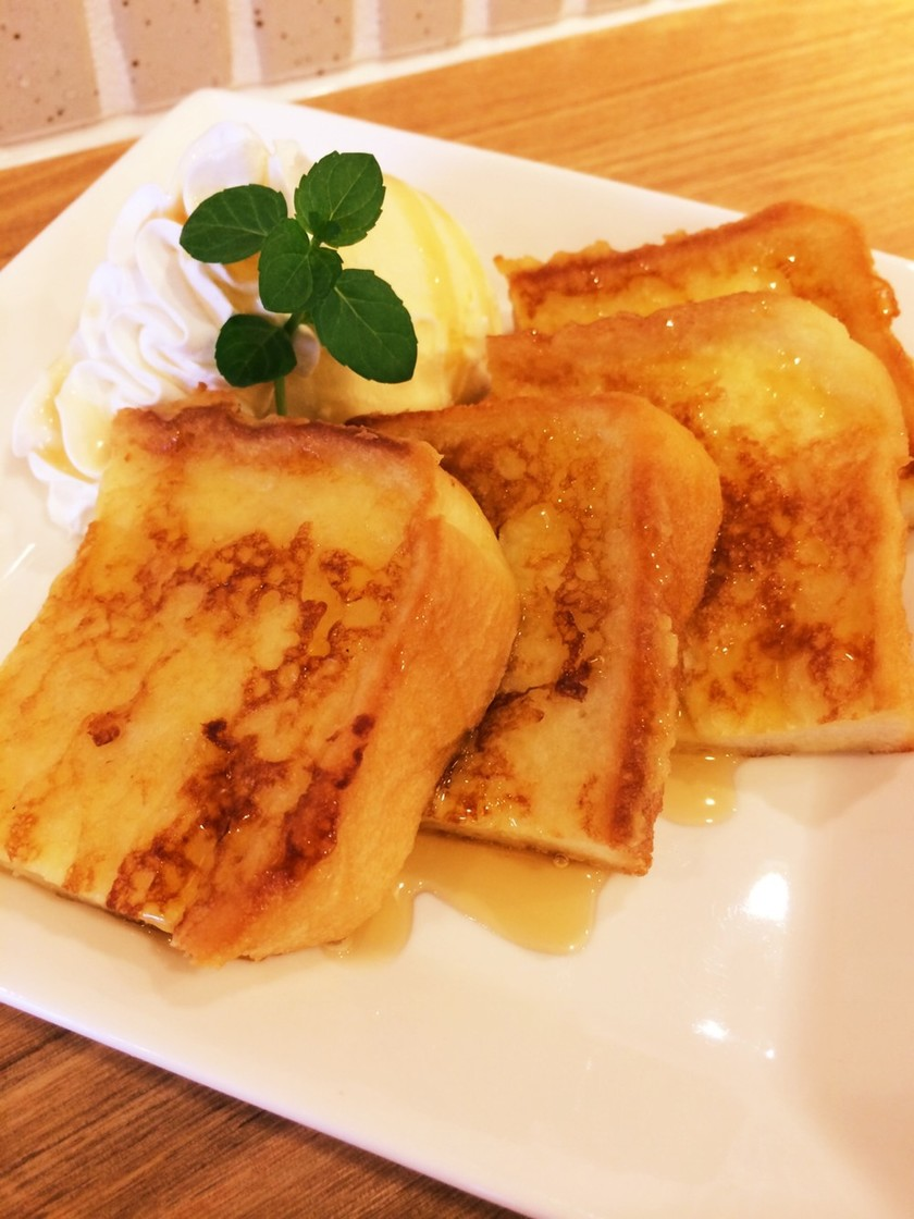 簡単 朝食にぴったり フレンチトースト