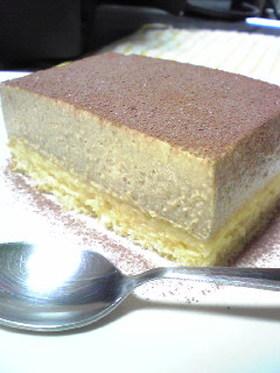 豆腐ヨーグルトプリンケーキ