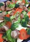鶏胸肉で節約☆フライパンぎゅうぎゅう焼き
