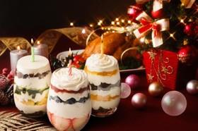 3種のキャンドルケーキ