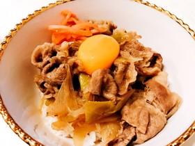 簡単!STAUB鍋で作る絶品牛丼♡♡
