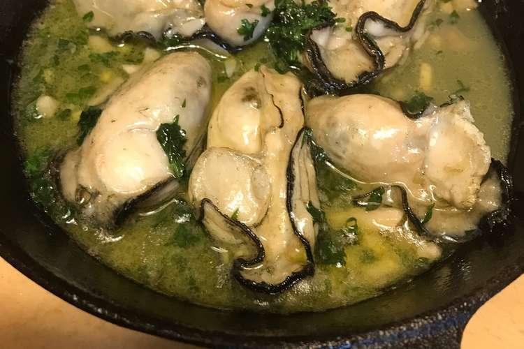 アヒージョ 牡蠣 の