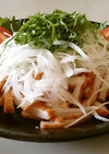 簡単【薩摩揚げ・玉葱・大葉でおつまみ♪】