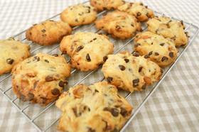 みそピーのチョコロッククッキー