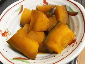 砂糖不使用♡超簡単!かぼちゃの煮付け