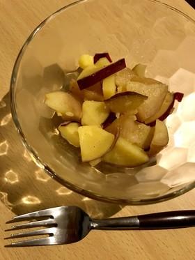 さつまいもとりんごのダイエット中おやつ
