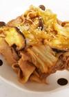 豚バラと白菜のピリ辛味噌炒め