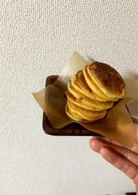 林檎と蜜柑のパンケーキ!ノンオイルでも☆