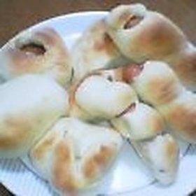 簡単!子供とつくる  おたのしみパン