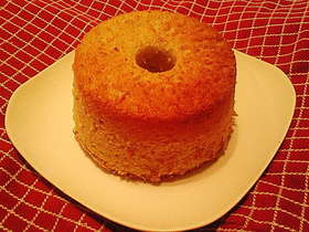 ふわふわレモンシフォンケーキ
