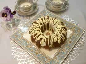 クグロフケーキ  ココア&ホワイトチョコ