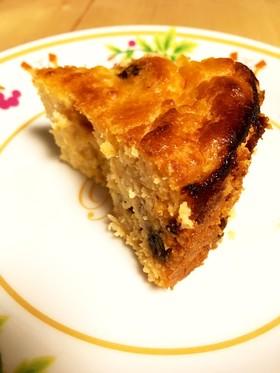 ほんのり大人味☆酒粕とおからのケーキ