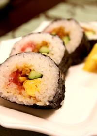 雲丹醤油で巻き寿司☆