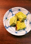 はんぺんと野菜の卵焼き