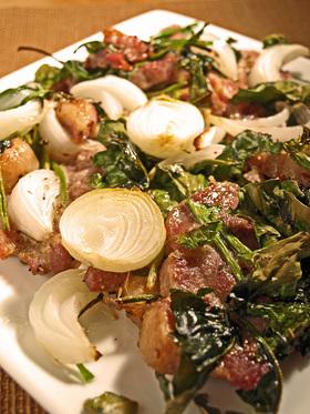 豚ロース肉のオーブン焼き