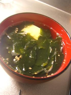 玉子豆腐の酢ープ