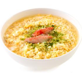 かき卵青のり麺
