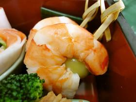 お節料理)翡翠海老(ひすいえび)