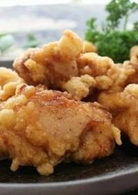 片栗粉、白玉粉なし☆人気の鶏の唐揚げ