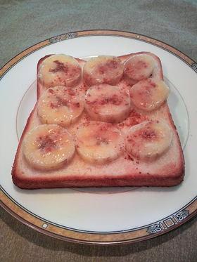 バナナシナモンシュガートースト