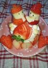 離乳食中期後期お祝いに☆ひな祭りケーキ