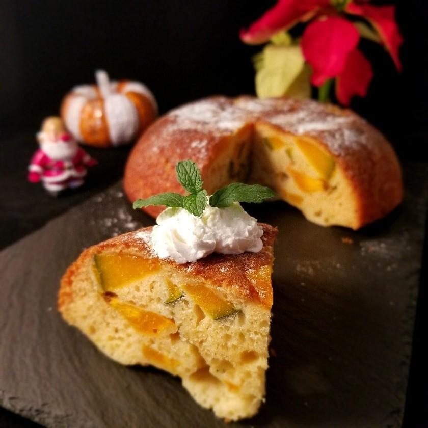 HMレシピ!炊飯器でかぼちゃのケーキ