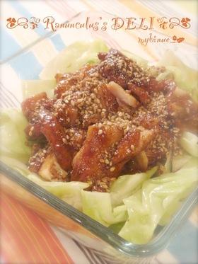 甘醤油のタレが絡んで♔うまうま鶏肉