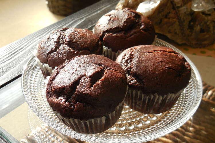 カップ ケーキ チョコレート