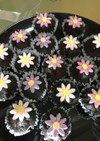 パーティーに!お花のミニマフィン♪