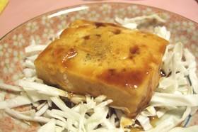 豆腐の甘辛煮