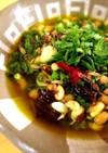 納豆となまり節(orツナ)和風アヒージョ