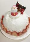 クリスマスのドームケーキ☆