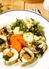 冷凍野菜で時短!30分で簡単チキンロール