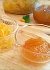 砂糖ゆず、ゆず茶、柚子マーマレードと保存